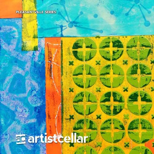 Pleasantville Series Four-Stencil Set