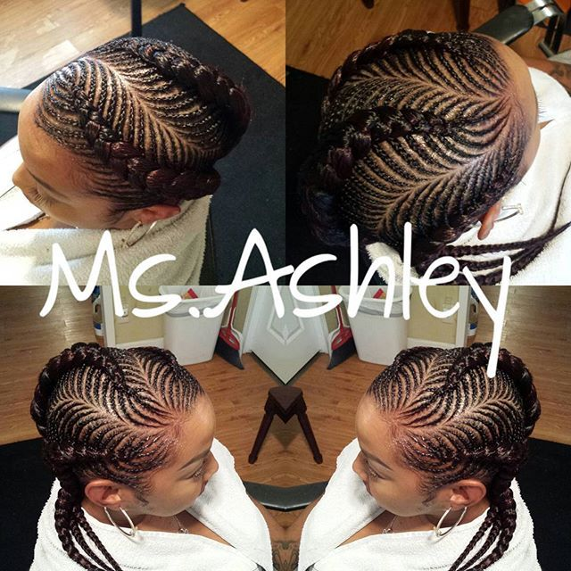Fishbone Cornrows Msashley Pensacolabraider