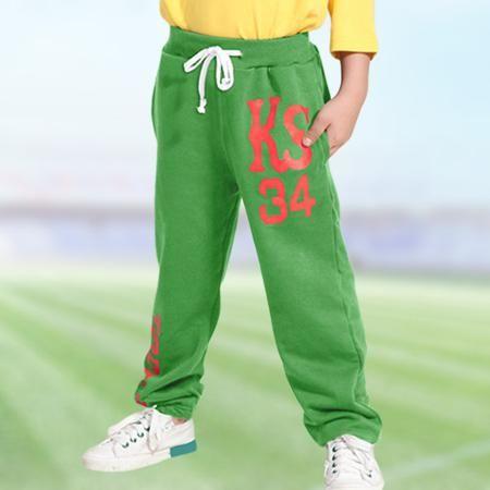 Детские тренировочные брюки осень расслабленной хлопок гипертрофия жировой мальчиков брюки и вязаная детская одежда Весна брюки для мальчиков  — 712.94р.