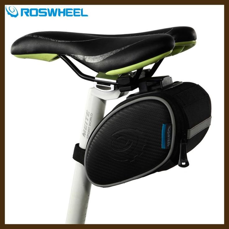 Roswheel Frame Bicycle Tail Bag Mountain Cycling Rear Tool Bag Saddle Seatpost Pannier MTB Road Bike Bag Accesorios Bicicleta