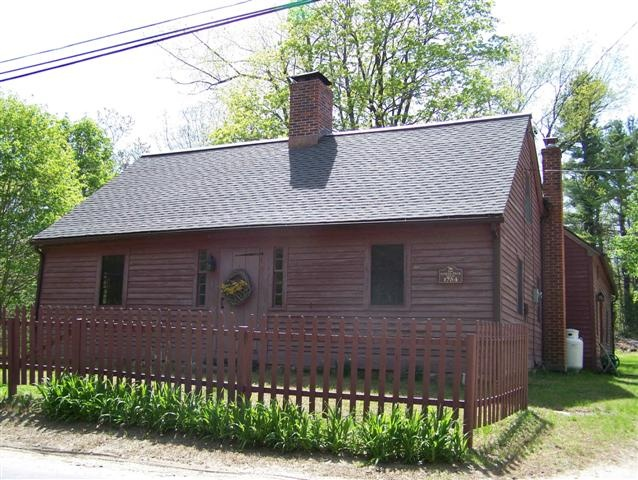 images of Historic homes in CT | Local Historic Properties in Connecticut: Samuel Peck House, 1754