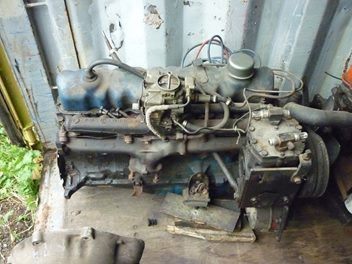 1966 mustang engine/gearbox