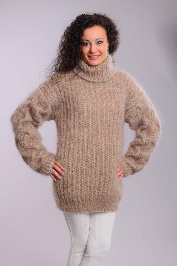 981964ea152 Turtleneck Mohair Sweater