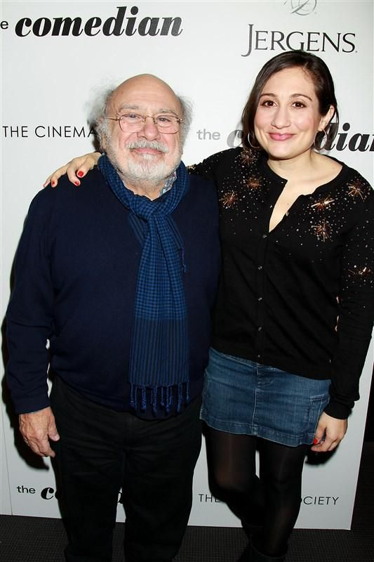 "Danny DeVito and Lucy DeVito attend ""The Comedian"" film screening in New York City on Jan. 31, 2017"