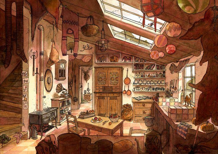 La cuisine du voyageur by *Marfigram on deviantART