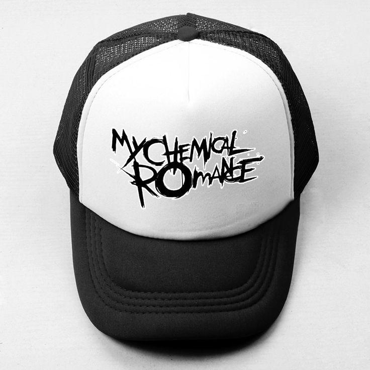 >> Click to Buy << MY CHEMICAL ROMANCE Baseball Cap Men Women ONE OK ROCK Boy's Girl's Hat Summer Casquette Hats Motorcycle KTM Mesh Snapback Caps #Affiliate