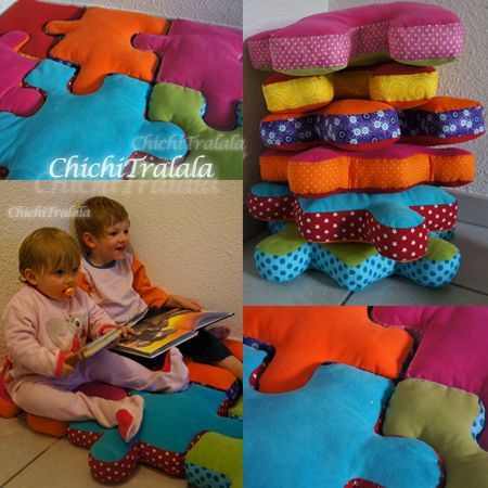 Tuto puzzle coussin : trop canon ! #couture