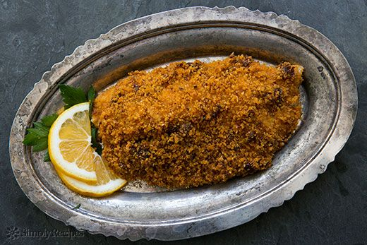 Baked Tilapia with Sun-dried Tomato Parmesan Crust on Simply Recipes