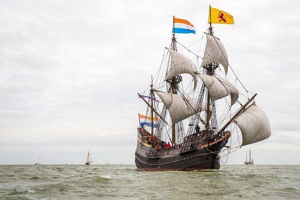 VOC- museumschip Hoorn @halvemaen 2015