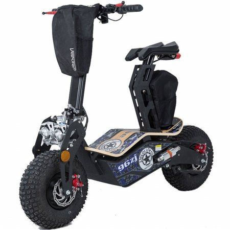 MotoTec Mad 1600w 48v Electric Scooter MotoTec