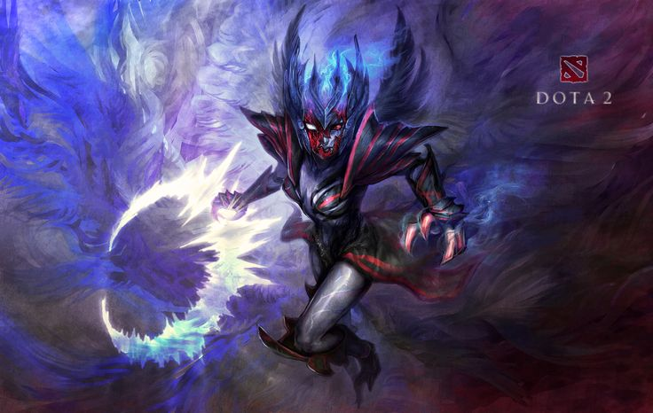 Vengeful Spirit Dota 2 Fanart - Art by Me [Cizu]