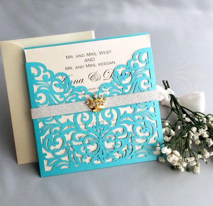 Best 20+ Tiffany Blue Invitations Ideas On Pinterest