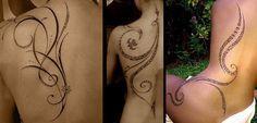 Resultado de imagem para tatuagens tribais femininas delicadas