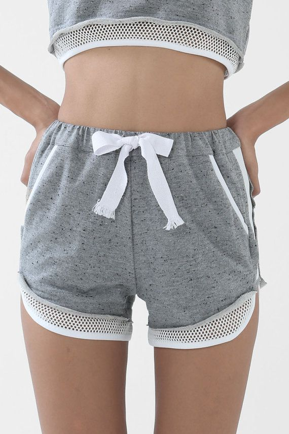 The Breaker Shorts (Grey) - Track Shorts