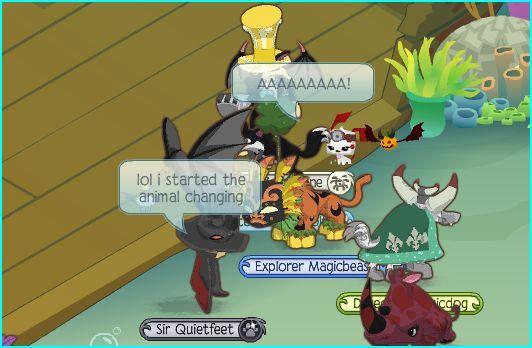 animal jam glitches   Animal Jam Rapids ~by Trickertreee: Strange glitch!