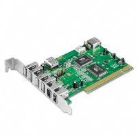8 Port USB 2.0/FIREWIRE Combo Pci Card by Ultra. $18.00. It?s our new Ultra 8-port FireWire/USB 2.0 PCI card and it features plenty of high-speed access for quick and efficient data transmission. The Ultra 8-port FireWire/USB 2.0 PCI card supports high-speed 480Mbits/sec, full-speed 12Mbits/sec, and low-speed 1.5Mbits/sec to give you the versatility to handle virtually any kind of data flow. With four external and 1 internal USB 2.0 ports, two external and 1 inter...