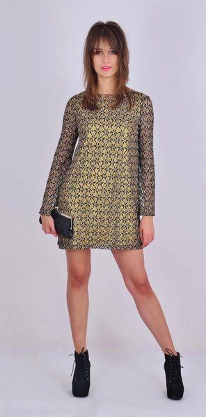 Goldi trapezowa sukienka koronkowa w NAT Fashion Room na DaWanda.com
