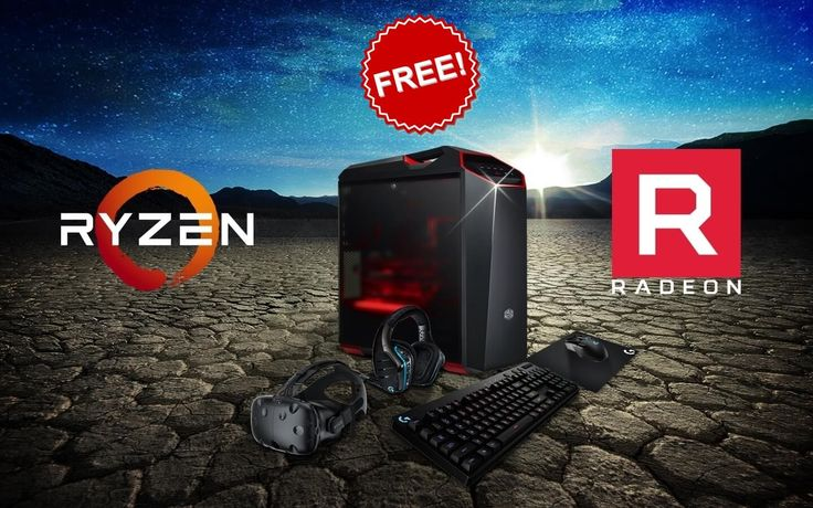 Win Gaming PC with AMD Ryzen 7 1800X Giveaway April 2017
