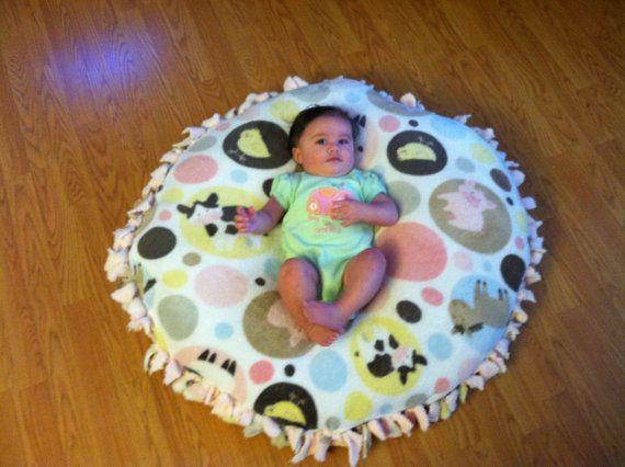 Fleece Napper Pillow by Cloud9Creator on Etsy, $40.00