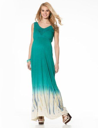 Amazon.com: Motherhood Maternity: Jessica Simpson Sleeveless Tye Dye Maternity Maxi Dress: Clothing