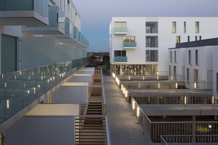 Winner 2014 of the Palmarès Grand Public Architecture Contemporaine, France Living between wide-open and shared spaces The residential development designe...