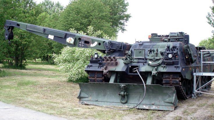 Bergepanzer 3 Buffel- Problem wozów pomocniczych dla polskich Leopard 2 wcześniej lub później będzie musiał zostać rozwiązany, jednym z potencjalnych rozwiązań jest Bergepanzer 3 Buffel. Fot. Sonaz/ CC BY-SA 2.0