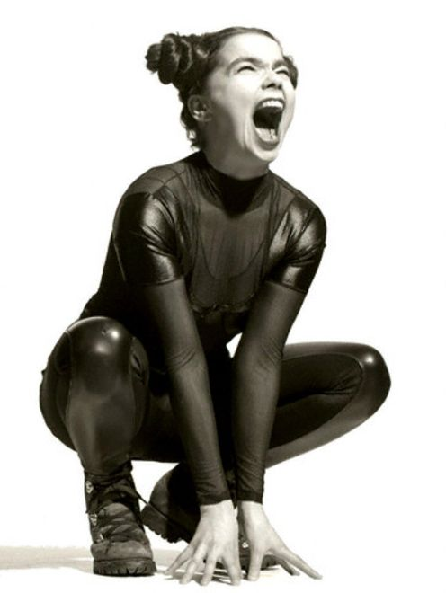 Björk... being Björk. I'm not even going to question this. ;)