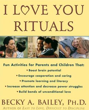 75 activities designed to strengthen the  adult-child bond, increase attention span, decrease power struggles, and promote language and literacy at home or school....(great resource for new parents)