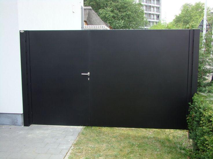Metallooks: Metalen poorten