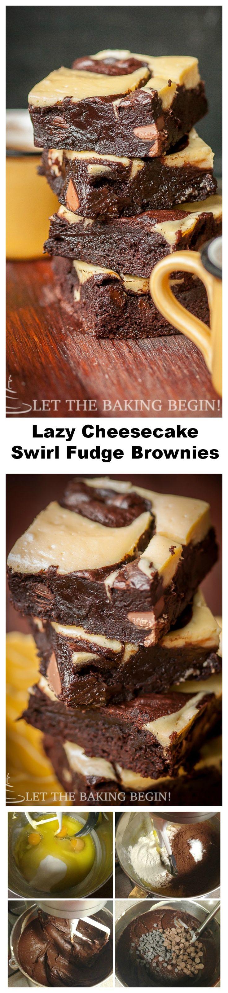 Best Cheesecake Brownies EVER!