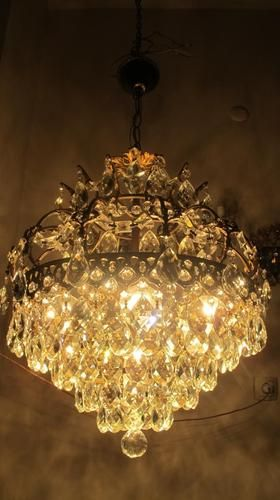 Vintage French Chandelier 1940s More