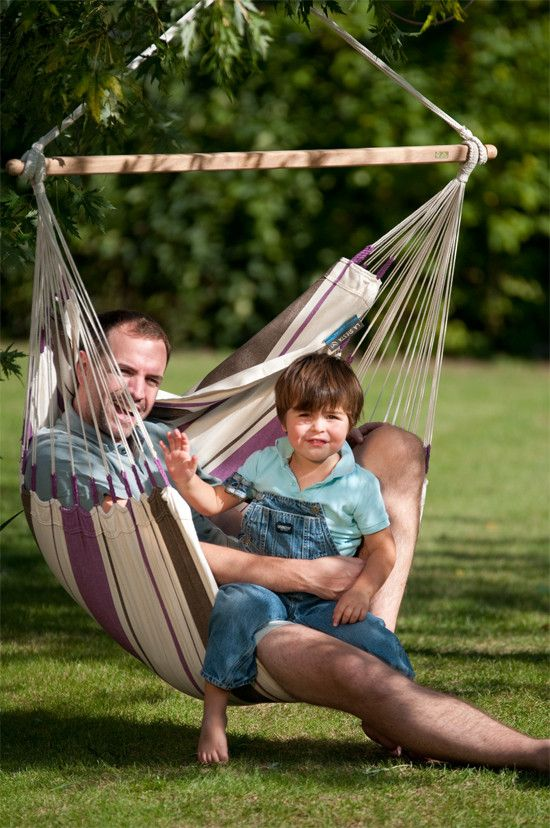 La Siesta Hammock Chair Basic Caribeña Purple