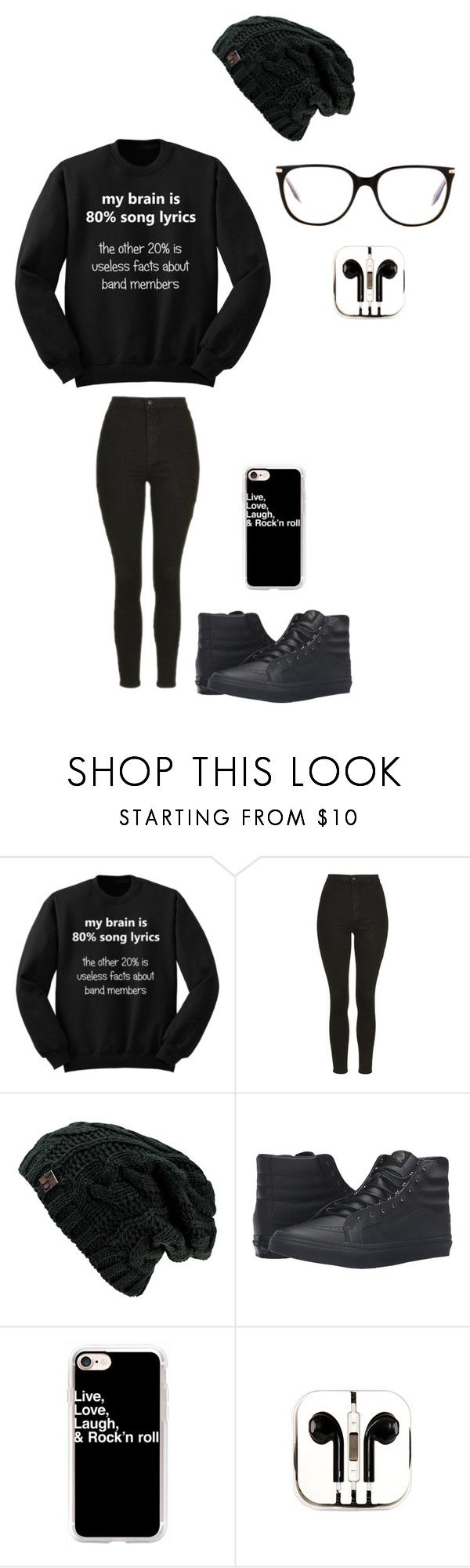 """Untitled #139"" by darksoul7 on Polyvore featuring Topshop, Vans, Casetify, PhunkeeTree and Victoria Beckham"