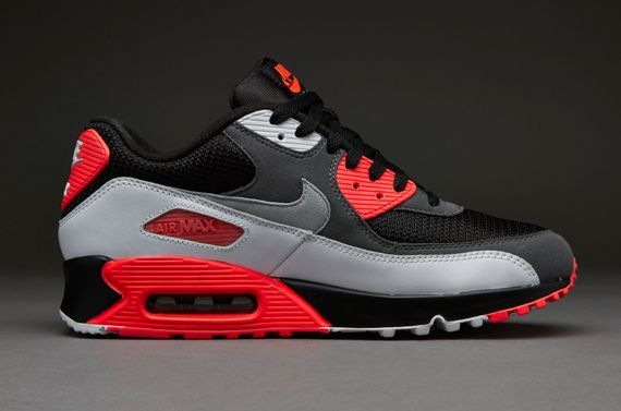 Nike Air Max 90 OG 'Reverse Infrared' BlackGrey