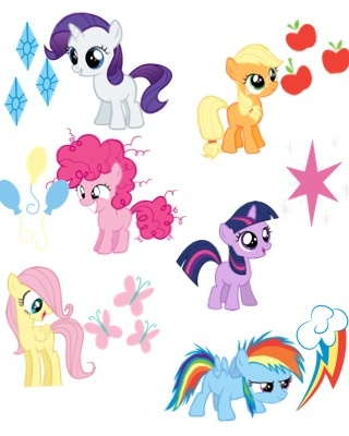 My Little Pony Main Characters As Humans