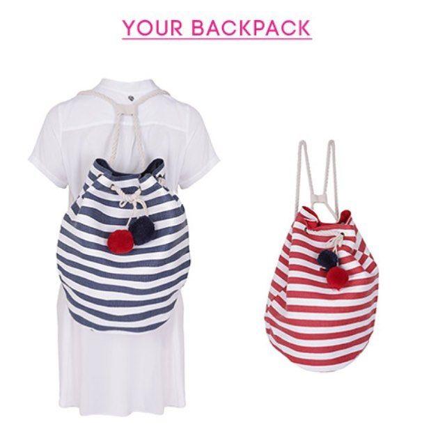 Week's essentials: Η backpack που θα αγαπήσεις αυτό το καλοκαίρι! Ανακάλυψέ την σε όλα τα #matfashion καταστήματα!
