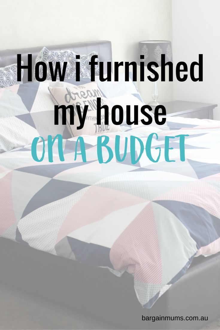 How I furnished my house on a budget with Super Amart