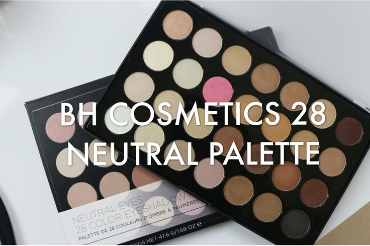 Review on the 28 Neutral BH Comestic! Link to my channel is in the bio!