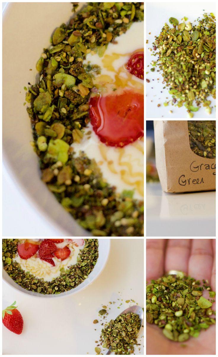 Homemade yogurt using the oven. with Coastal Crunch Green Tea Granola