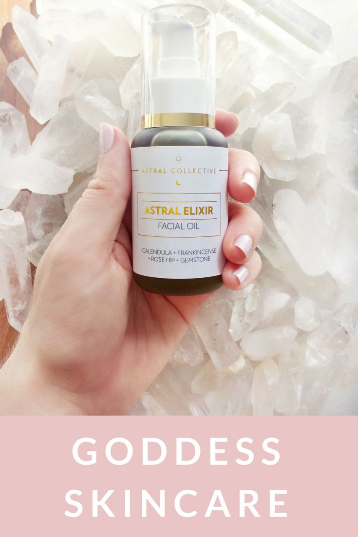 A sensorial facial oil that absorbs quickly and does not block pores to help with glowing goddess skin! With aromatherapy, essential oils and a Quartz crystal to make it the daily moment your skin + soul needs the most!  Learn more here>> https://astralcollective.com/products/facial-elixir-oil