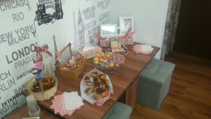 Cute bridal shower candybar by me :X