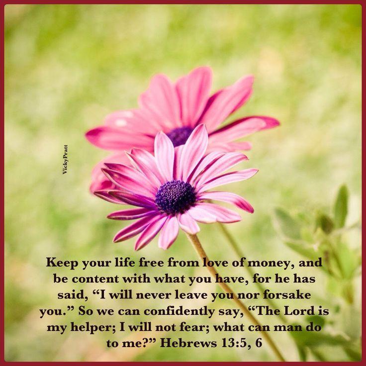 hebrews 13:5-6 - Google Search