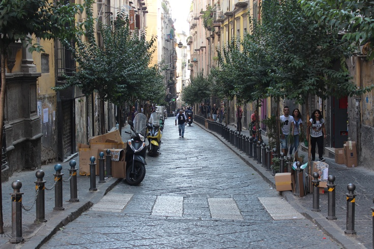 Naples - streets in the old city
