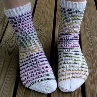 Rim Socks by Niina Laitinen - free pattern