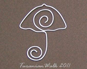 Tortuga marcador de hilo por TuranianWalk en Etsy
