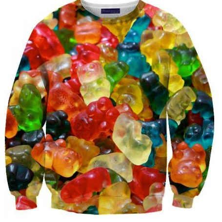 you don't understand how badly I want this gummy bear sweater.