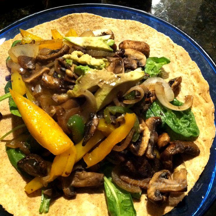 vegan mushroom fajitas recipe