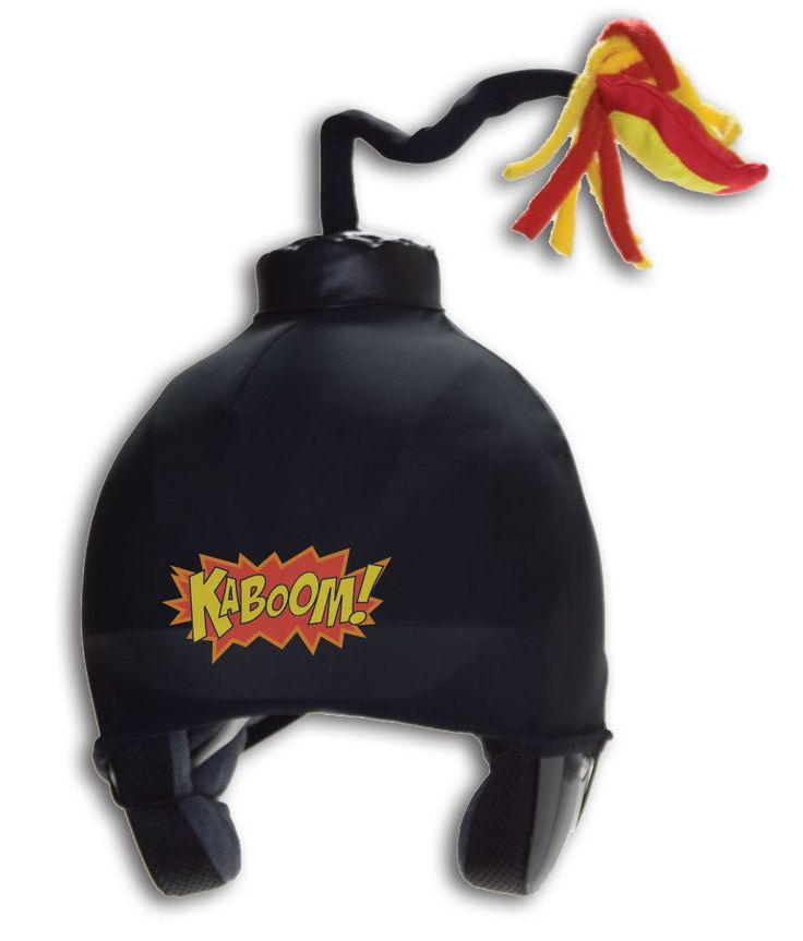Da Bomb Helmet Cover