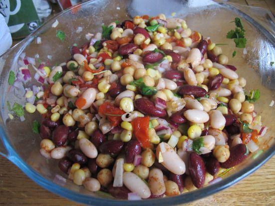 Mixed bean Saladd