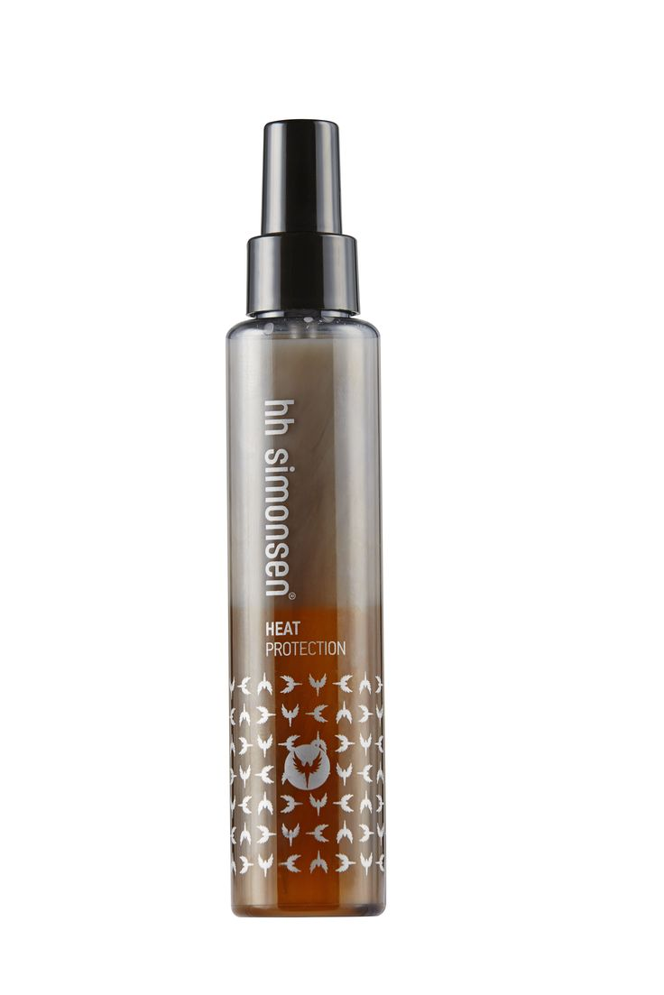 New heat protection from HH Simonsen. Perfect to be used before blow drying or before using a straightening iron or a wand